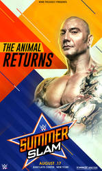 WWE Batista Poster by workoutf