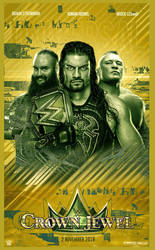 WWE Crown Jewel Poster by workoutf