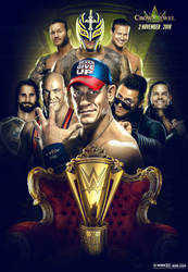 WWE Crown Jewel Poster 2018 by workoutf