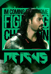 Roman Reigns Poster by workoutf