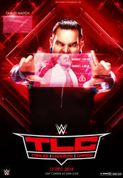 WWE TLC 2019 Poster Samoa joe Vs Jeff Hardy by workoutf