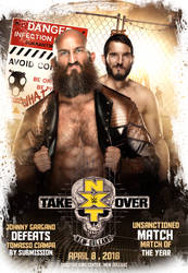 Tommaso Ciampa Vs Johnny Gargano NXT TakeOver 2018 by workoutf