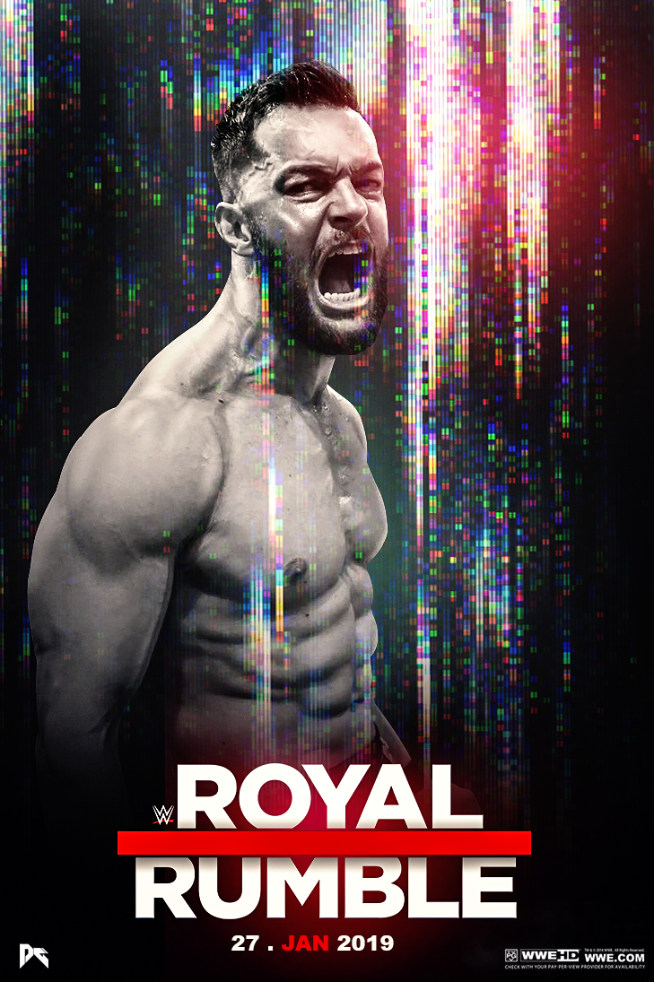 WWE Royal Rumble 2019 Poster by workoutf