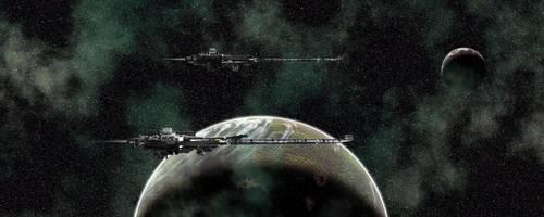 Caldari Kerberos Class Carrier by shayhurs