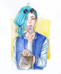 donut boi by LeaAatsu