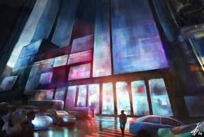Cityscape by LaurensSpruit