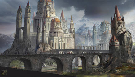 City In The North by LaurensSpruit
