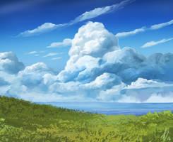 Cloud Study by LaurensSpruit