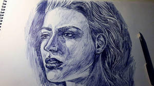 Portrait sketch by LaurensSpruit