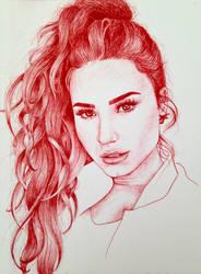 Demi Lovato by larakoala