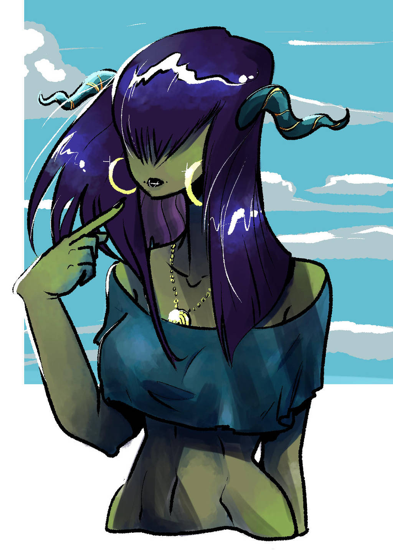 Monstergirl by PictoShaman