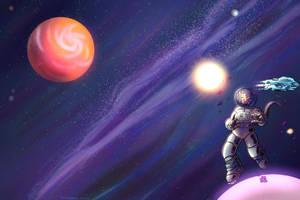 Cosmic Wonder by PictoShaman