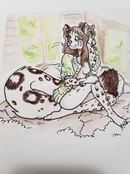 Aravi Watercolor by PictoShaman