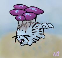 Flying Cinderpig Fan Art by ArgentDandelion