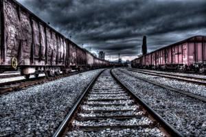 abandoned wagons by DarkoPhoto