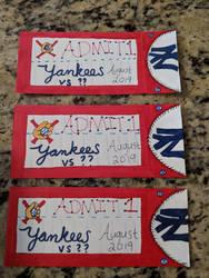 Yankee ticket design by CodeRomance