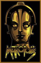 Metropolis-Fritz Lang-1927 by 4gottenlore