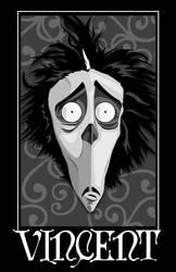 Vincent - Tim Burton by 4gottenlore