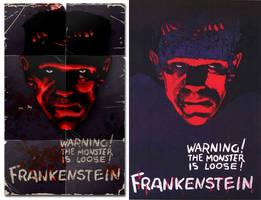 Frankenstein-Replica poster by 4gottenlore