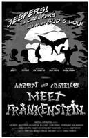 Abbott Costello Frankenstein by 4gottenlore