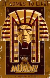 The Mummy-1932-Karloff by 4gottenlore