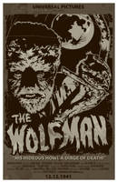 The Wolf Man-1941-Poster by 4gottenlore