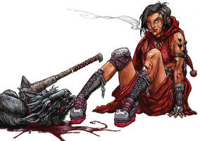 Red Riding Hood teenage by IanLIR