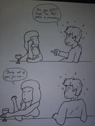 Chat up fail by LukewarmPsycho