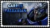 Garrus Valkarian STAMP by apexigod