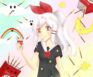 CE: Pocky Wonderland by Megumi-Seramu