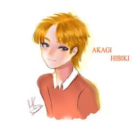 (Semi- Realistic Headshot) : HIBIKI by Megumi-Seramu