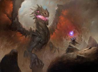 Dragon. by Stsdklnk