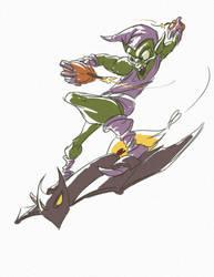 Green Goblin by pmaestro