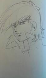 Joe Yabuki sketch by pen by ariesnopatty