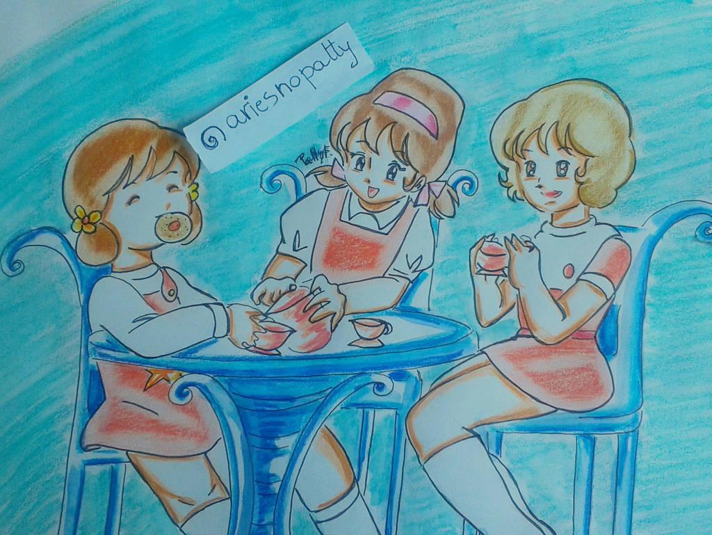 Majokko tea party by ariesnopatty