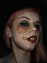 Face Your Monster by LacedUpIllustration