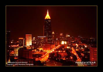 Atlanta Nightlife by Phoenixtear