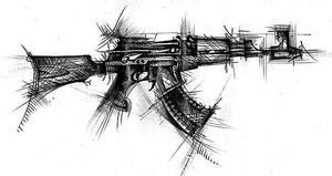 Symbol ak47 by Stalinlasar