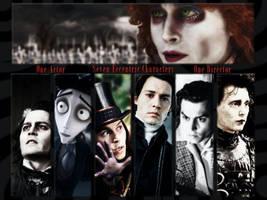 Johnny Depp meets Tim Burton by JoyfulArtist21