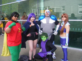 Teen Titans by brunetteyes