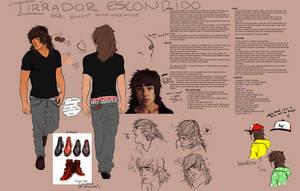 Tirrador Escondido Reference Sheet by TranslucentRainbow