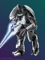 Halo 3 Elite - Collaboration by CrescentDebris