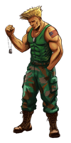 Guile (Street Fighter Anniversary FGE Version) by CrescentDebris