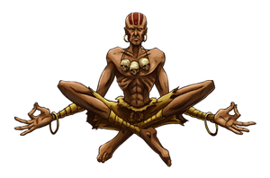 Dhalsim (Street Fighter Anniversary FGE Version) by CrescentDebris