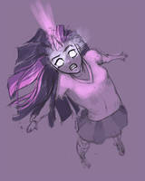 Twilight Sparkle Awakening by Shattered-Earth