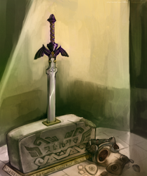 I Will Wait For You - Scrapper Skyward Sword by Shattered-Earth