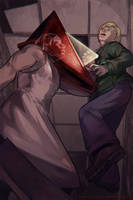 Face the Truth, James. (Silent Hill 2) by Shattered-Earth