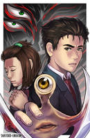 Parasyte Print by Shattered-Earth