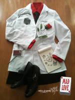 Dr. Harleen Quinzel Costume by RockerDragonfly