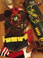 Bombshell Harley Quinn Cosplay by RockerDragonfly